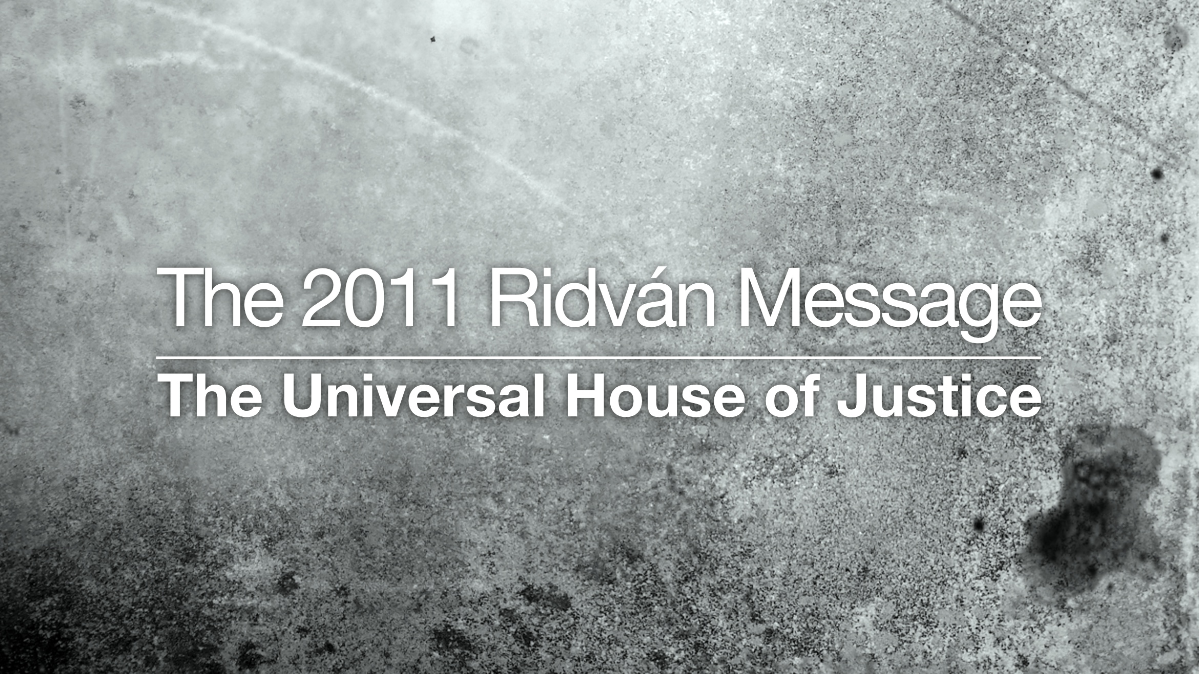messages of the universal house of justice pdf