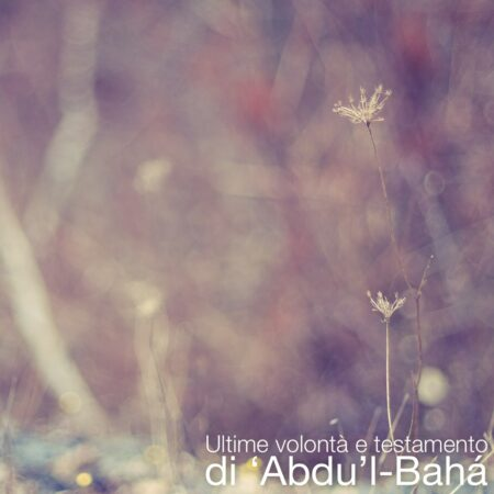 The Will and Testament of Abdu'l-Baha (Italian Translation)