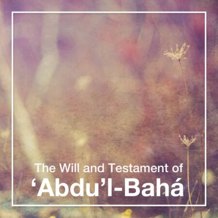 The Will and Testament of Abdul-Baha - Audiobook Cover